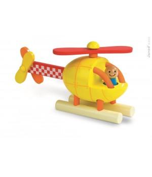 Helikoptéra Janod - drevená...