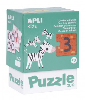 Čísla DUO puzzle