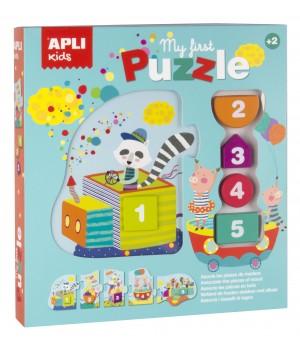 Čísla 1 - 5 maxi puzzle a...