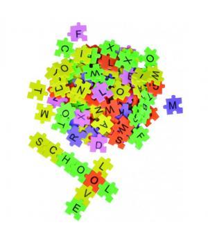 ABC puzzle - samolepiace