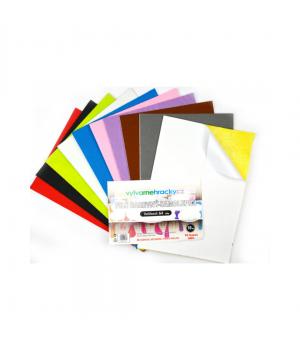 Samolepiaci filc - mix farieb