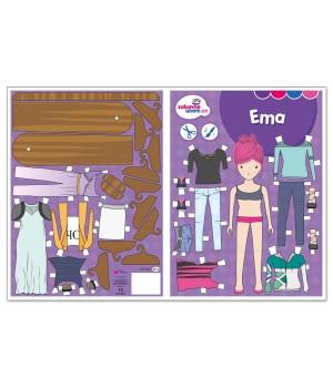 Ema vystrihovačka - obliekanie