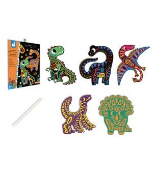 Dinosaury - vyškrabovačky