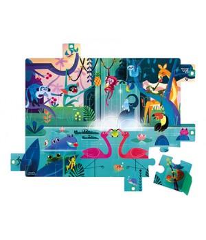 Puzzle Džungľa Janod s...