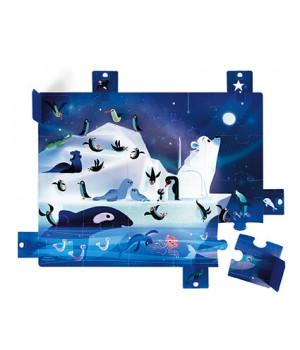 Puzzle Antarktída Janod s...