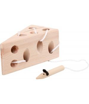 Prevliekačka syr s myškou