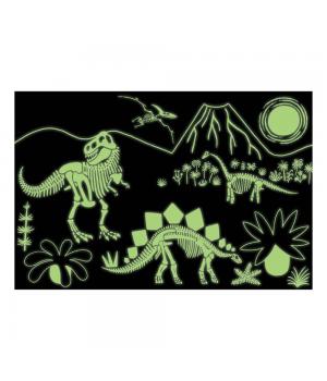 Dinosaury 100 svietiace v tme