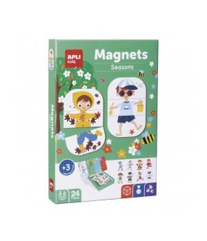 Ročné obdobia - magnetická hra