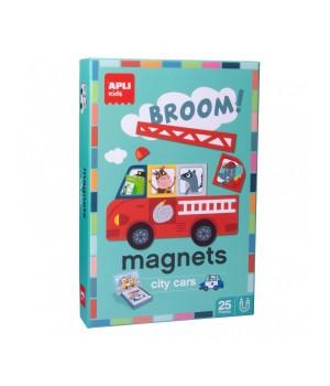 Autá - magnetická hra