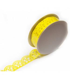 Žlté mašličky - papierová...