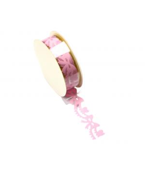 Ružové mašličky - papierová...