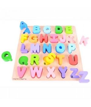 Baby abeceda veľké písmená
