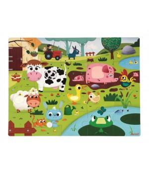 Puzzle Farma Janod s...