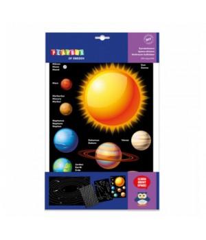 Samolepky Vesmír Playbox 250ks