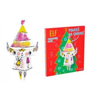 Elf na vymaľovanie Monumi