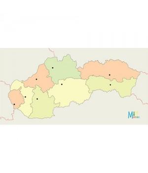 Slovensko - administratívne...