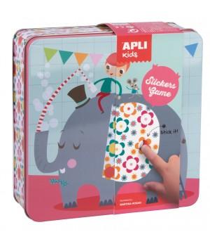 Hra s nálepkami Slon
