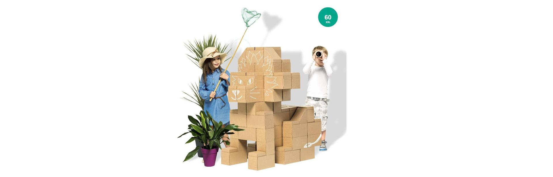 Stavebný materiál pre detské projekty
